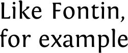 Fontin