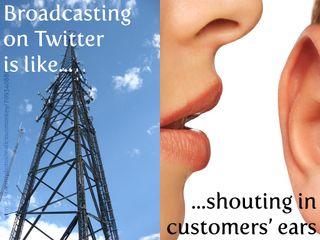 Broadcastingontwitter